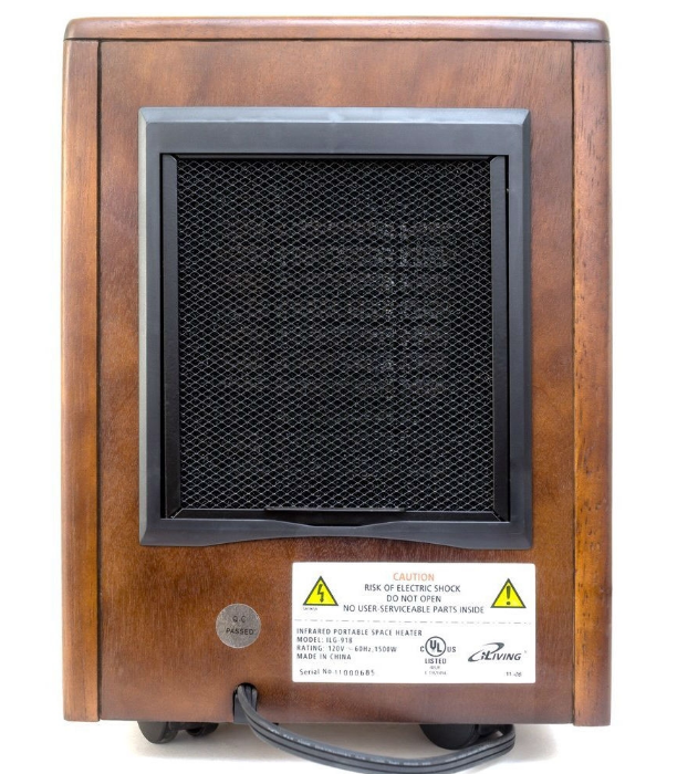 Infrared Space Heater 1500W with Remote w/ Dark Walnut Wood Cabinet-o2 Infrared Space Heater 1500W with Remote w Dark Walnut Wood Cabinet.PNG