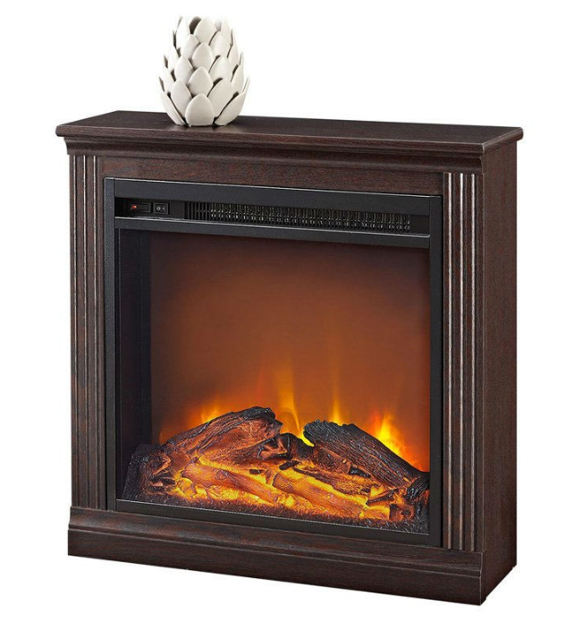 Freestanding Ventless Electric Fireplace in Cherry Finish-e1 Freestanding Ventless Electric Fireplace in Cherry Finish.PNG