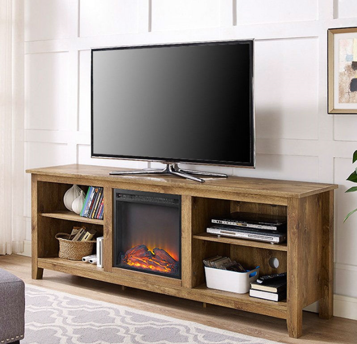 Barnwood 70-inch TV Stand Electric Fireplace Space Heater-y1 Barnwood 70-inch TV Stand Electric Fireplace Space Heater.PNG