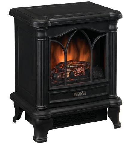 Black Freestanding Electric Stove Style Fireplace Space Heater-s1 Black Freestanding Electric Stove Style Fireplace Space Heater.PNG