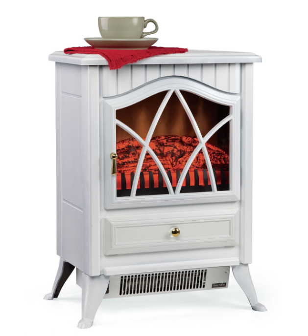 White Ivory 400 Square Foot Electric Space Heater Fireplace Stove-v1 White Ivory 400 Square Foot Electric Space Heater Fireplace Stove.PNG