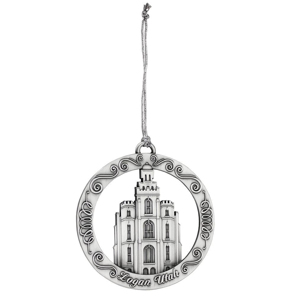 Logan Utah Temple Ornament