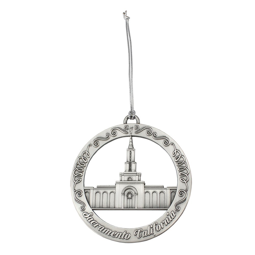Sacramento Temple Ornament