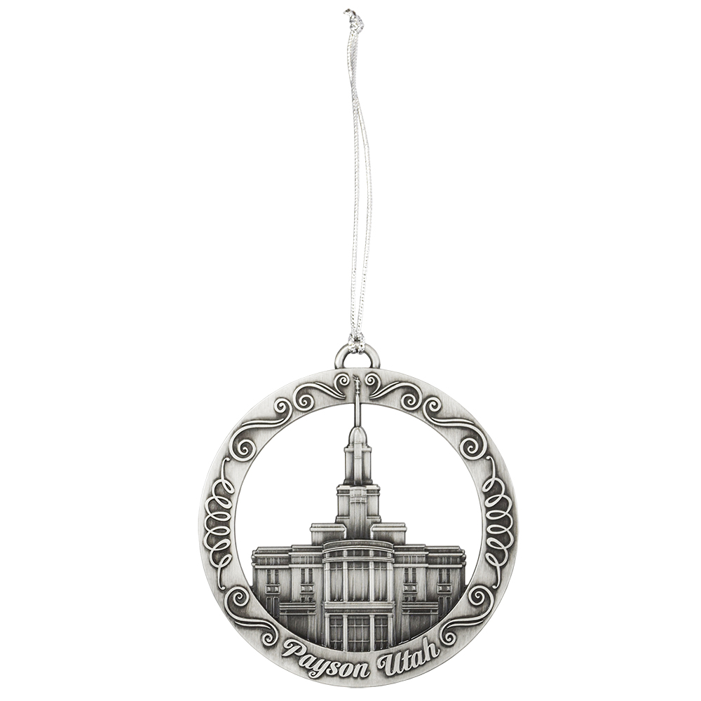 Payson Temple Ornament