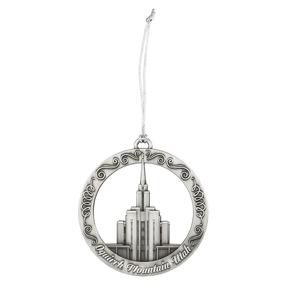 Oquirrh Mountain Temple Ornament