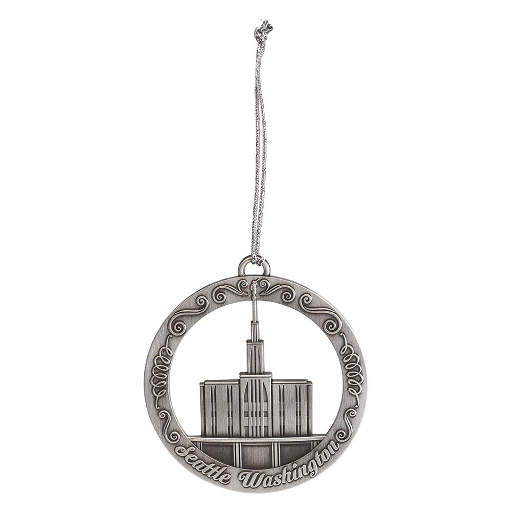 Seattle Washington Temple Ornament