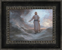 Deliverance is Nigh - Framed pictures of christ,david mcclellan, lds artwork, lds gifts, christ pictures, framed art