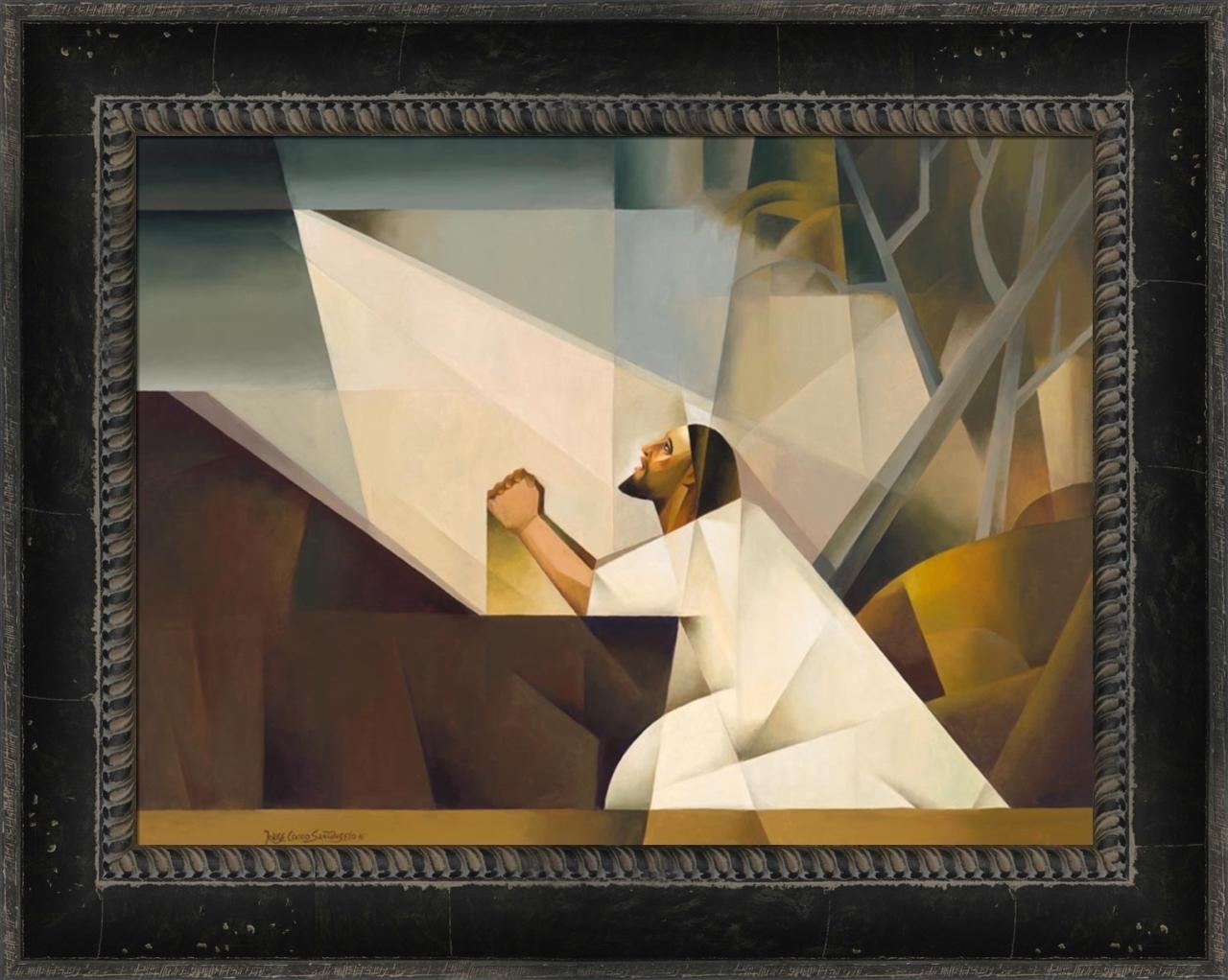 Gethsemane - Framed - D-AFA-JCG