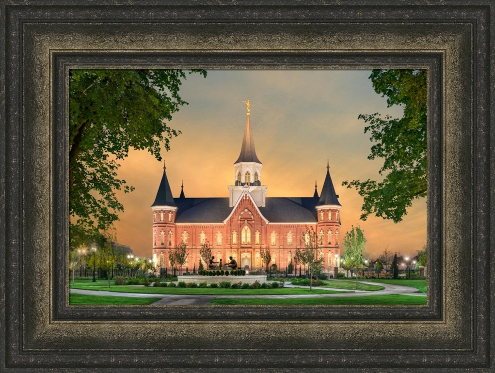 Provo City Center Temple - Footsteps of Faith - Framed - D-AFA-FOF
