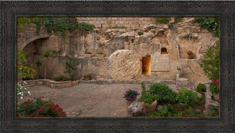 The Garden Tomb - Framed - D-AFA-GT