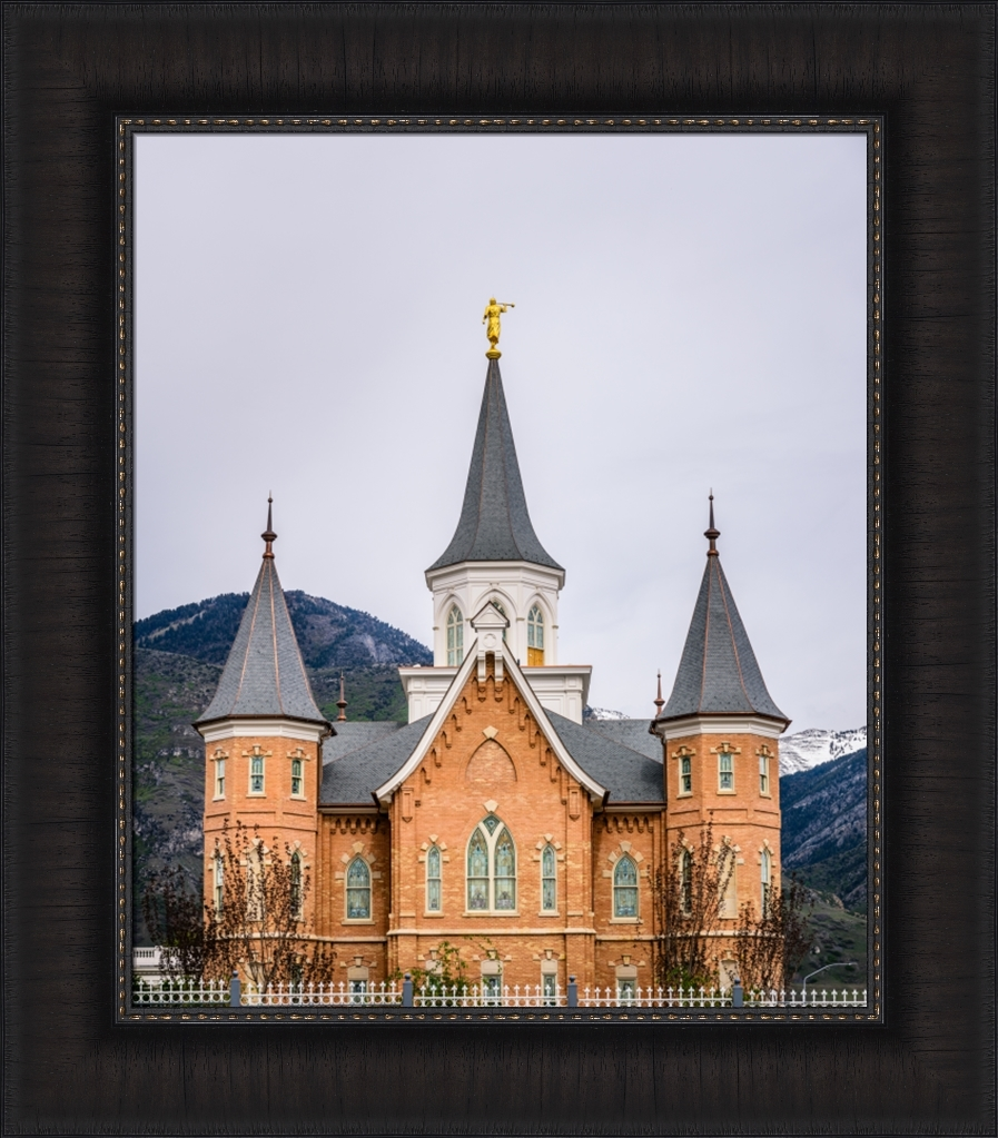 Provo City Center Temple - Spires - Framed - D-AFA-PCCTS