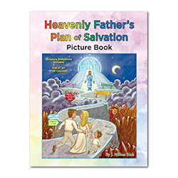 Heavenly Father's Plan of Salvation Coloring Book plan of salvation activity book, plan of salvation coloring pages