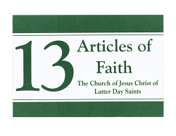 Articles of Faith Cards (10pk)