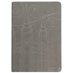 Stitched Temple Journal - Gray