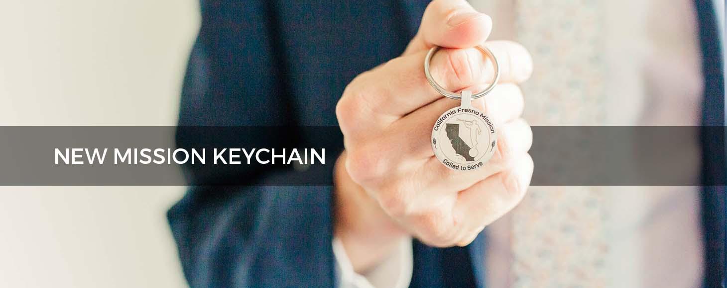 Custom LDS Mission Keychains