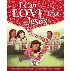 I Can Love Like Jesus - Hardcover