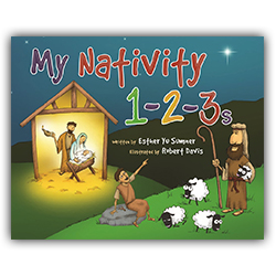 My Nativity 1-2-3s christmas book, nativity book, esther yu sumner, robert davis