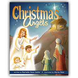 Christmas Angels christmas book, nativity book,