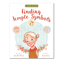 Finding Temple Symbols: Learn of Me temple symbols, childrens book,