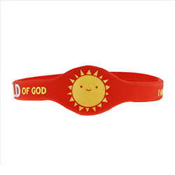 Child of God Silicone Bracelet 2018 Primary theme, 2018 i am a child of god theme,