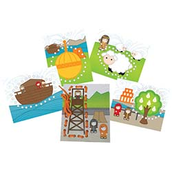 Book of Mormon Lace Cards 5pk
