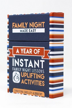 Family Night Made Easy Activity Cards - CF-P01158