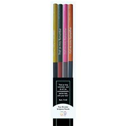 Double Ended Scripture Marking Pencils