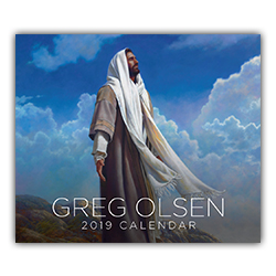2019 Greg Olsen Calendar greg olsen calendar, 2019 greg olsen calendar, greg olsen lds calendar