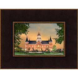 Provo City Center Temple - Footsteps of Faith - Framed