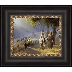 Journey to Bethlehem - Framed