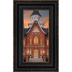 Provo City Center Temple - A Mighty Fortress - Framed