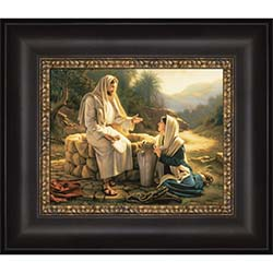 Living Water - Framed - D-AFA-SD-LW
