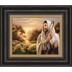 The Lord Is My Shepherd - Framed - D-AFA-SD-TLIMS