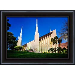 Las Vegas Temple South Side - Framed