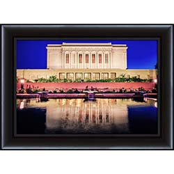 Mesa Temple Reflection Side - Framed - D-LWA-SJ-MTRS-7369694