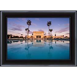 Mesa Temple Sunset Reflection - Framed - D-LWA-SJ-MTSR-7369626