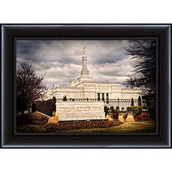 Nashville Temple - Framed