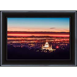 Oakland Temple Sunset Hill - Framed
