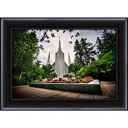 Portland Temple Front - Framed