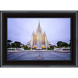 San Diego Temple Entrance - Framed