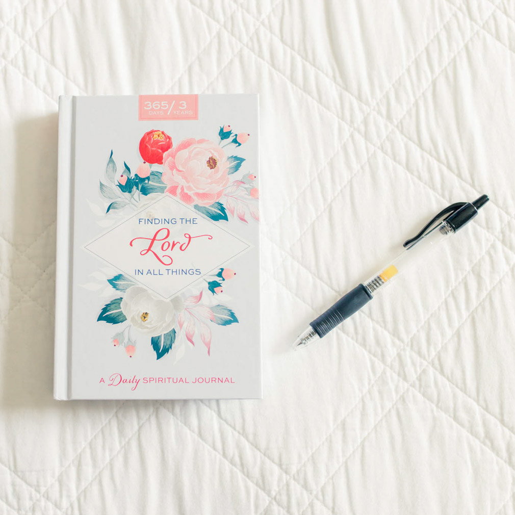 Finding the Lord in All Things Journal - Floral