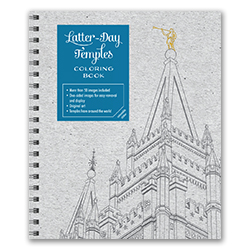 Latter-day Temples Coloring Book temples coloring book, adult coloring book, coloring book for adults