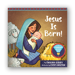 Jesus Is Born! flashlight discovery book, flashlight book, childrens flashlight book, childrens christmas book