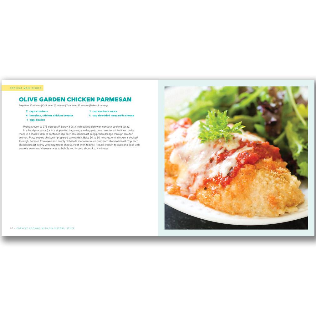 Six Sisters' Stuff Copycat Cooking Cookbook - DBD-5206065