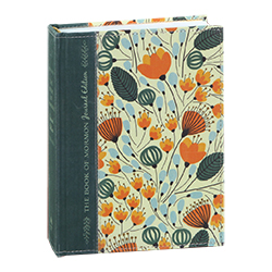 The Book of Mormon Journal Edition - Orange Floral