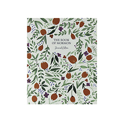 The Book of Mormon Journal Edition - Red Floral