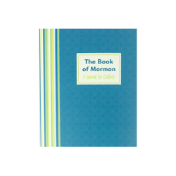The Book of Mormon Childrens Journal Edition book of mormon journal edition, book of mormon floral, floral journal