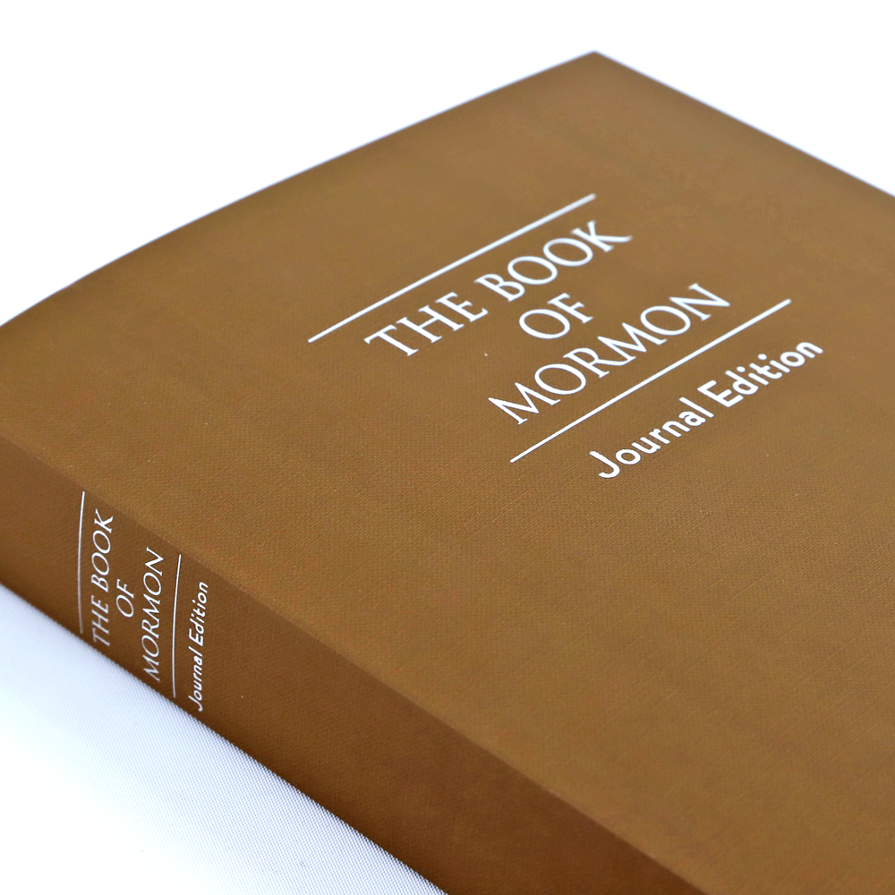 The Book of Mormon Journal Edition - Brown - DBD-5217867