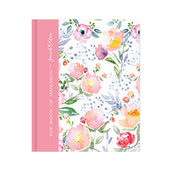 The Book of Mormon Journal Edition - Pink Floral
