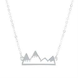 Today is Your Day Necklace graduation necklace, mountain necklace, today is your day necklace